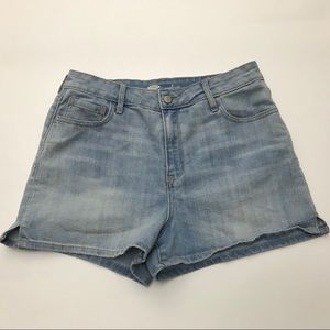 Old Navy Women's Sz 6 High Rise Jean Shorts